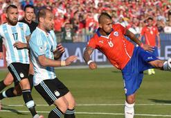 Şili - Arjantin: 4-1