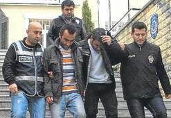 Sahte narkotikçiler rüşvet randevusunda yakalandı