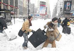 New York'ta kar sefaleti