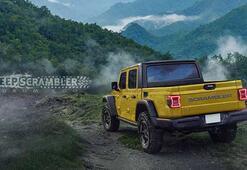 Jeep Pickup için hazırlanmış en gerçekçi proje: Jeep Scrambler
