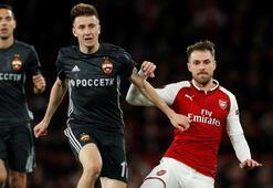 Arsenal 4-1 CSKA Moskova (İşte maçın özeti)