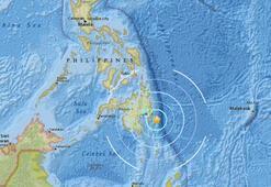 Son dakika... Filipinlerde deprem