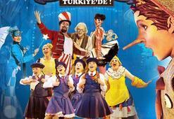 Pinokyo çocuk müzikali Türkiyede