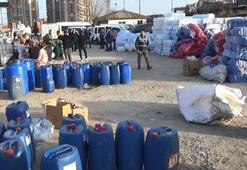 Diyarbakırda sahte temizlik ürünü operasyonu