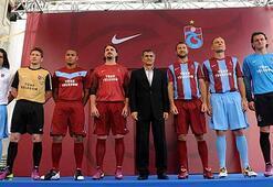 İşte Trabzonsporun yeni formaları