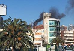 Son Dakika... Kadıköyde rezidansta yangın çıktı