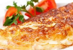 Bayat ekmekli omlet