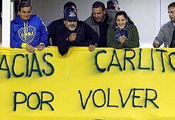 Carlos Tevezi 40 bin kişi karşıladı