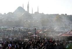 İstanbullular izdiham yarattı
