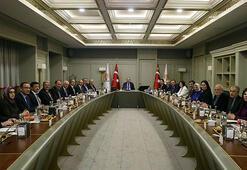 Cumhurbaşkanı Erdoğan başkanlığında toplanan AK Parti MYK  sona erdi