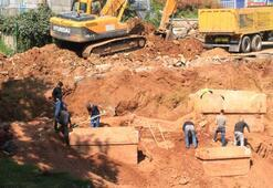 İnşaat kazısında 5. mezar da ortaya çıktı