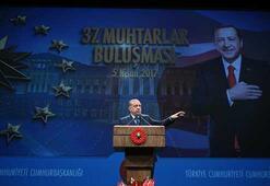 Cumhurbaşkanı Erdoğandan muhtarlar ve koruculara müjde