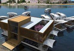 Fırat Nehri Yüzen oteller ile hareketlenecek