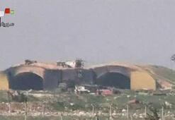 Son dakika: ABD Suriyeyi füzelerle vurdu En net fotoğraflar geldi, uçaklar paramparça...