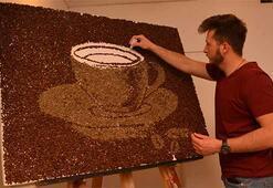 Çikolata sevgisi ressam yaptı: Tarihi köprüyü Türk kahvesiyle çizdi