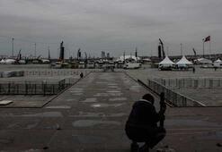 İstanbul büyük mitinge hazır