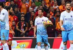 Trabzonspor, ikinci yarıda çöktü