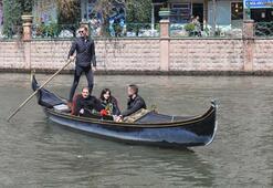 Venedik'e gidemeyenler hayallerini Eskişehir'de gerçekleştiriyor