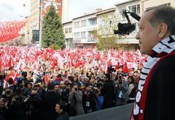 Cumhurbaşkanı Erdoğan: Çorumun kararı net, oyu evet