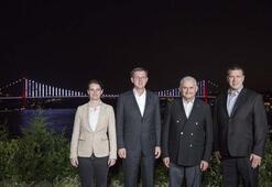 Başbakan Yıldırımdan Slovenya, Estonya ve Sırbistan başbakanlarına yemek