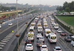 Ve okullar bugün açıldı İşte İstanbul trafiğinde son durum...