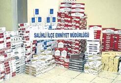 Mardin otobüsünde 8 bin paket sigara
