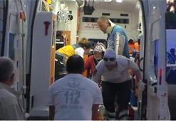 Bartın'da patpat kazası: 13 yaralı