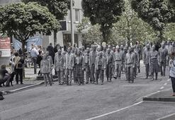 G20 zirvesine zombili protesto