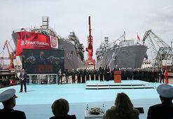 TCG Bayraktar, Deniz Kuvvetleri Komutanlığına teslim edildi