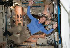 Kadın astronot tarihe geçti