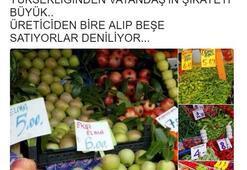 Melih Gökçek Twitterdan duyurdu: Meyve ve sebze fiyatları düşmezse...