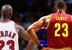 LeBron James, Jordanın rekorunu kırdı