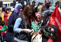 Diyarbakırda Kutlu Doğum Haftası etkinliği Pankartlar dikkat çekti
