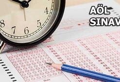 AÖL sınav soru ve cevapları ne zaman yayınlanacak AÖL girişi...