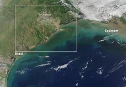 Son dakika: Kasırgaların vurduğu ABDde uzaydan gelen görüntüler şoke etti
