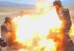 ABDli asker kendi ölümünü fotoğrafladı