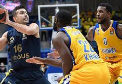 Fenerbahçe Doğuş, sezonu 2. sırada bitirmeyi garantiledi