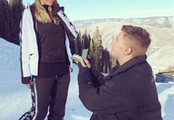2 milyon dolarlık yüzükle evlilik teklifi