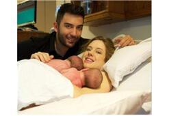 Wilma Elles doğum yaptı