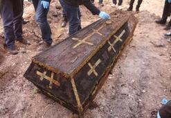 Rus Generale ait olduğu ileri sürülen cesedin bulunduğu alanda inceleme yapıldı