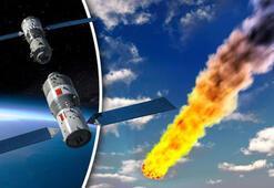 Çinin kontrolden çıkan uzay aracı Tiangong-1 hafta sonu Dünyaya düşecek