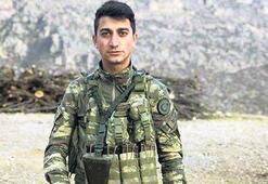 Afrin'de yaralanan  askerden acı haber