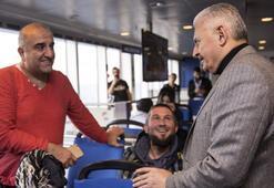 Başbakan Yıldırım, Yalovadan feribotla ayrıldı