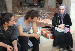 Binalar tahliye edildi, sokakta kalan kadınlar ağladı