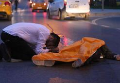 Fatihte motosiklet kazası: 1 ölü,2 yaralı