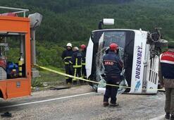 Bursada yolcu midibüsü ile otomobil çarpıştı