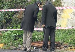 Adliye bahçesindeki kanaldan ceset çıktı