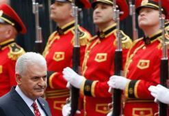 Başbakan Yıldırım Gürcistanda resmi törenle karşılandı