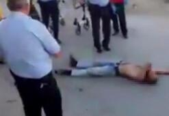 Türkiyede ilk kez flakka kullanan bir kişi görüntülendi