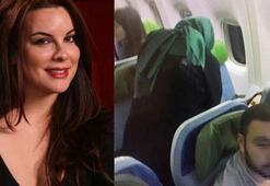 Uçakta rahatsızlanan ünlü oyuncu Seren Fosforoğluna ilk müdahaleyi bakan yaptı